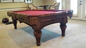 Atlanta area pool table